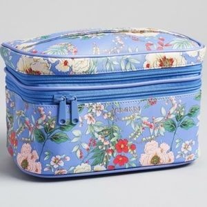 Yumi kIm NWT Blue floral make cosmetic bag